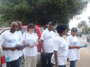 Action on World Bank in Maputo