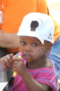 Uma das muitas criancas que estiveram conosco
