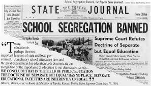 school segregation banned