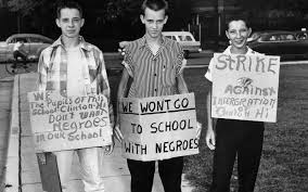 we wont go to school with negroes
